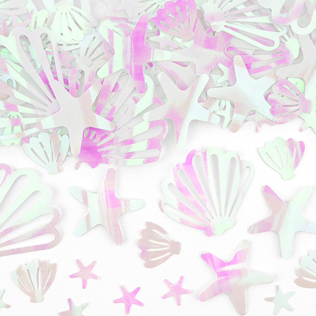 IRIDESCENT SEA CREATURE CONFETTI