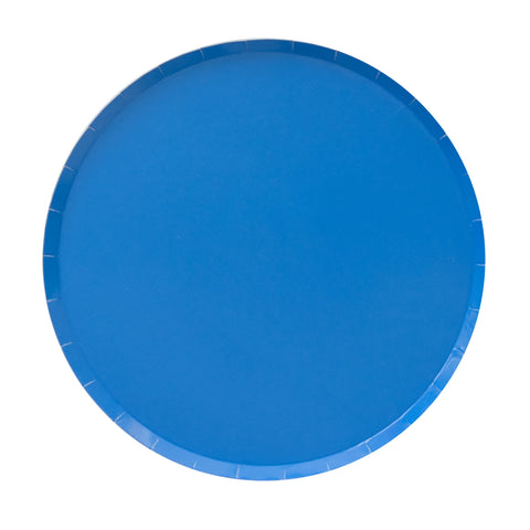 BLUE POOL LARGE PLATES