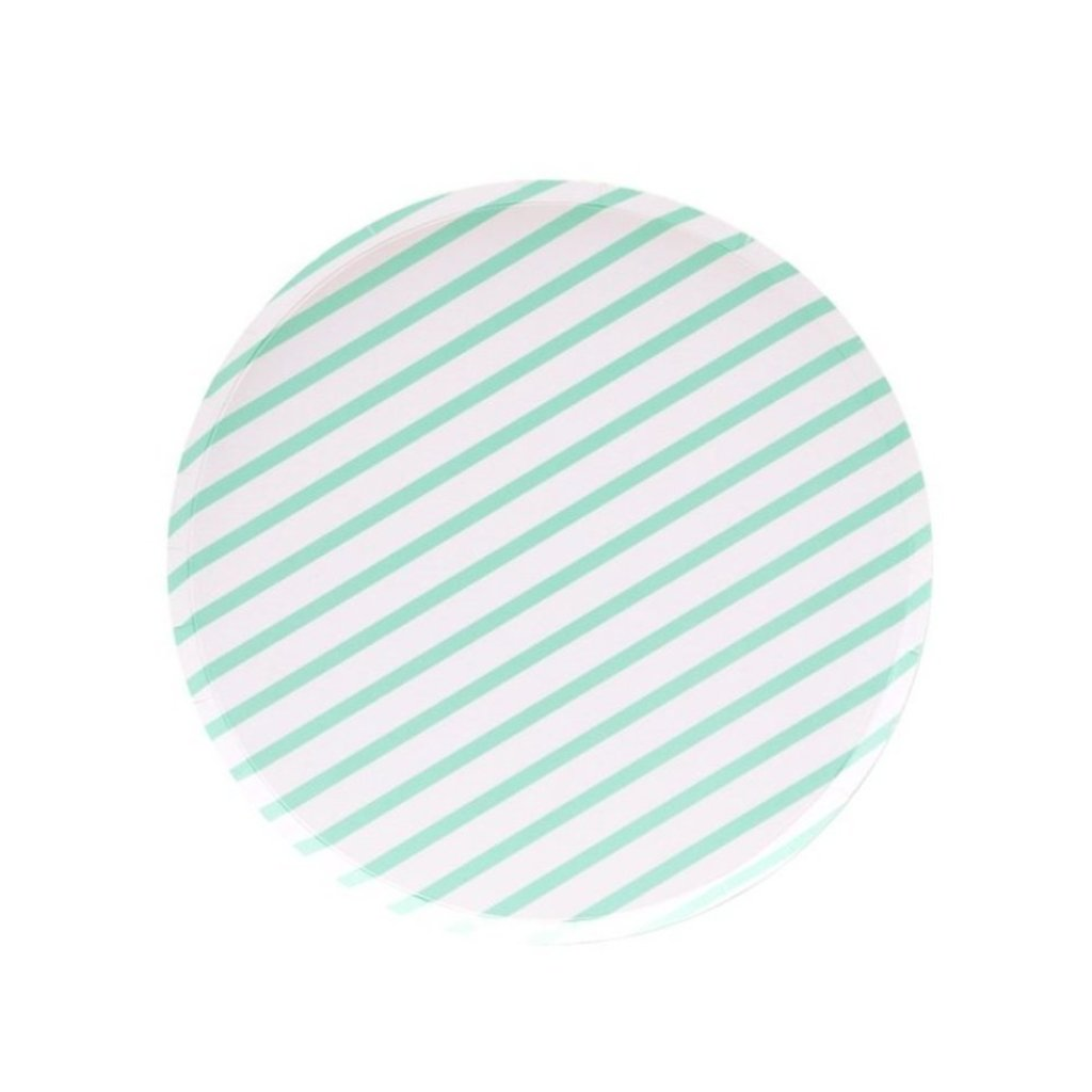 MINT STRIPES SMALL PLATES