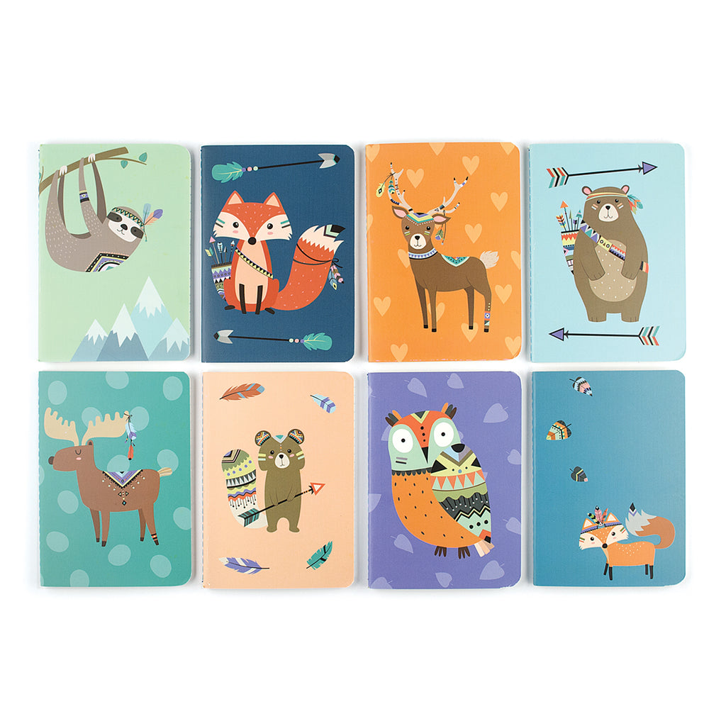 MINI NOTEBOOKS - FOREST FRIENDS
