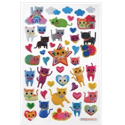 STICKERS - ITSY BITSY CAT EYES