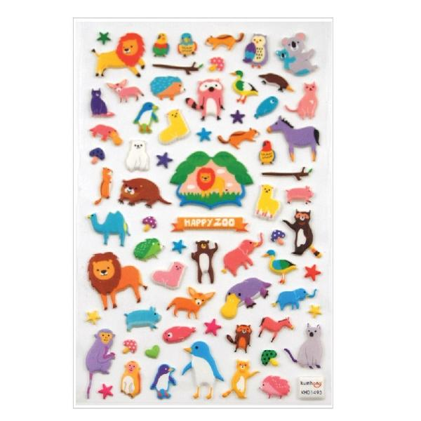 STICKERS - ITSY BITSY HAPPY ZOO