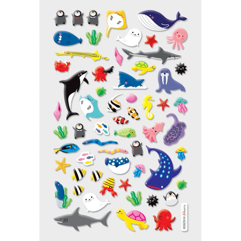 STICKERS - ITSY BITSY MARINE FRIENDS