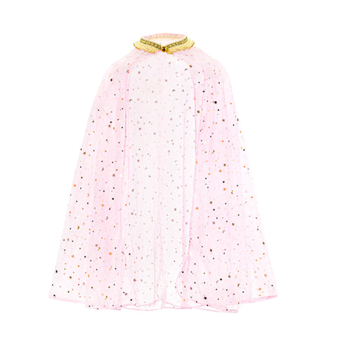 PINK STAR SPARKLE CAPE