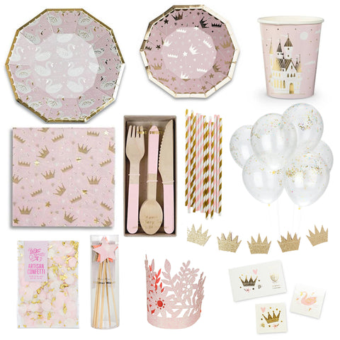 PRINCESS DELUXE PARTY BOX FOR 8