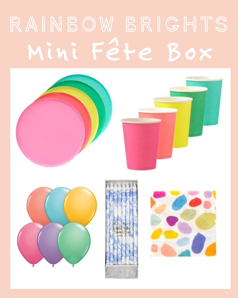 RAINBOW BRIGHTS MINI FÊTE BOX