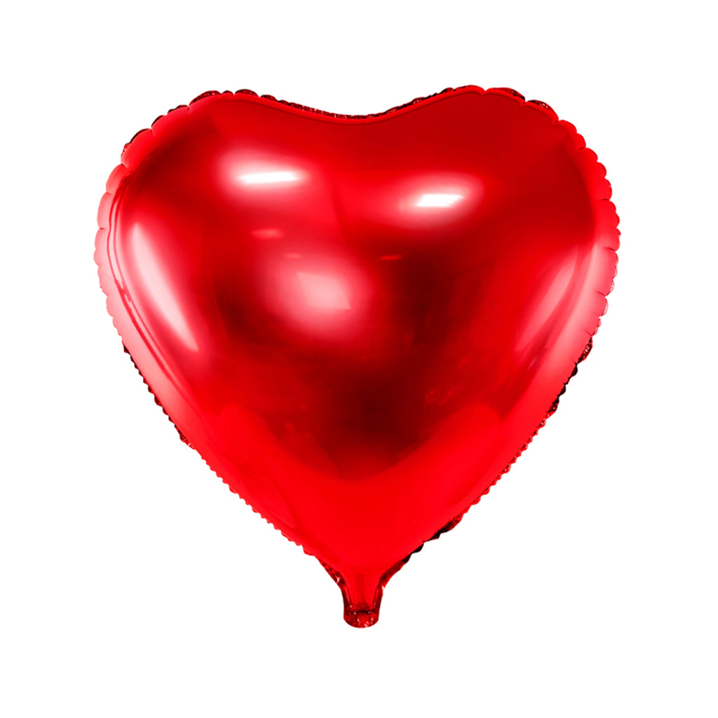 HEART FOIL BALLOON - RED