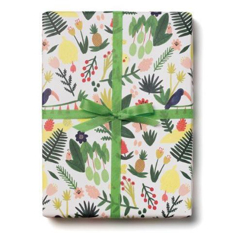 PARADISE WRAPPING PAPER 3-SHEET ROLL