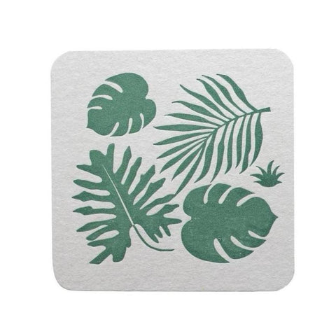 TROPICAL LEAVES COASTERS