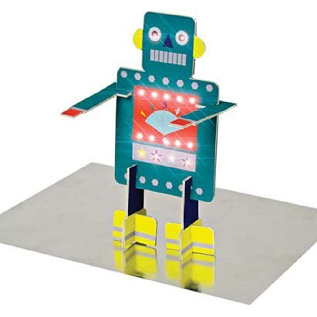 STAND-UP ROBOT BIRTHDAY CARD