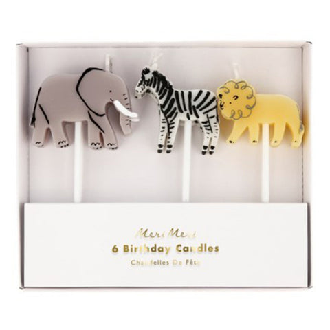 Safari Animals Candles