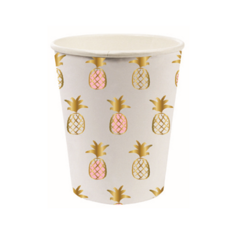 PINEAPPLE PATTERN CUPS