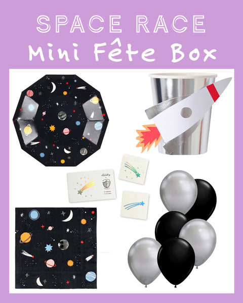 SPACE RACE MINI FÊTE BOX