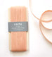 LOOSE WEAVE COTTON RIBBON - PEACH