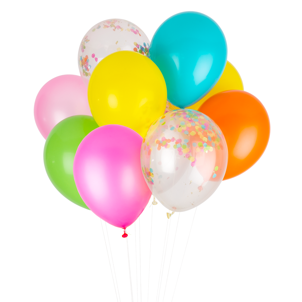 PARTY BALLOONS - FIESTA MIX