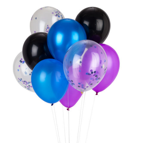 PARTY BALLOONS - GALACTIC MIX