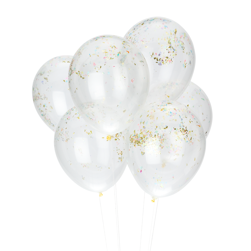 PARTY BALLOONS - ROYAL CONFETTI