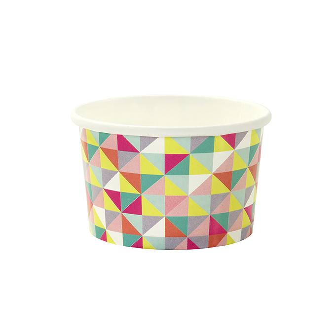 GEOMETRIC ICE CREAM CUPS