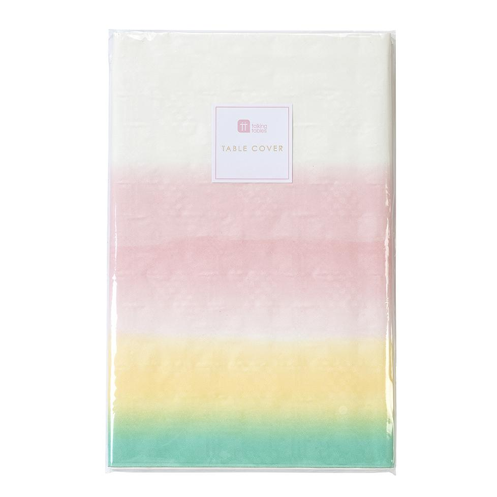 PASTEL TABLE COVER