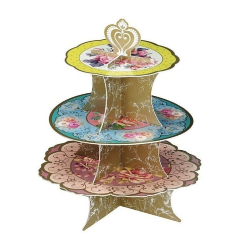 TRULY SCRUMPTIOUS 3-TIER CAKE STAND