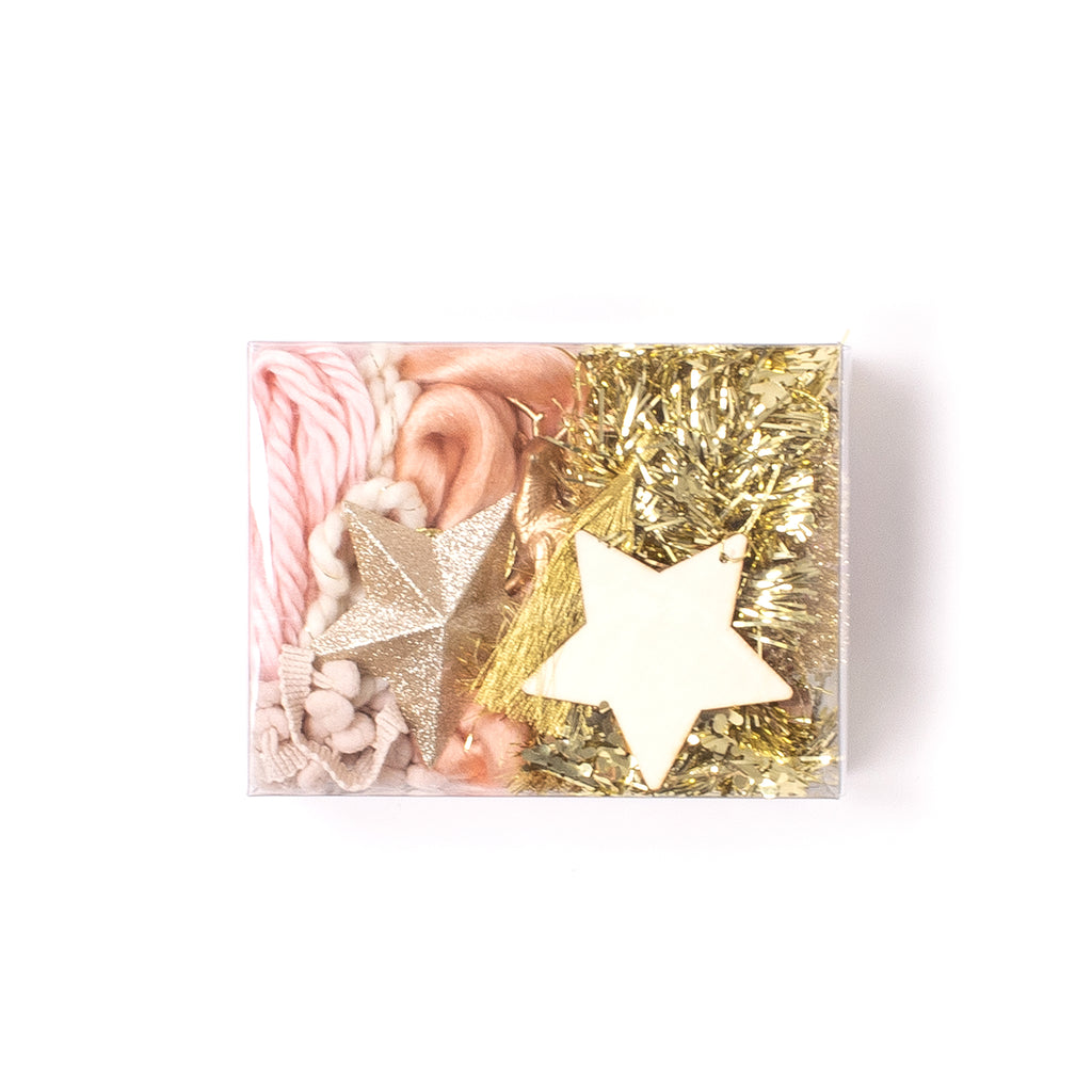 GIFT TOPPER KIT - ALL THAT GLITTERS IS GOLD (AND PINK!)