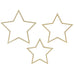 WOODEN STARS DECOR