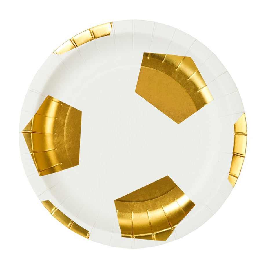 SOCCER CHAMPIONS GOLD PLATES
