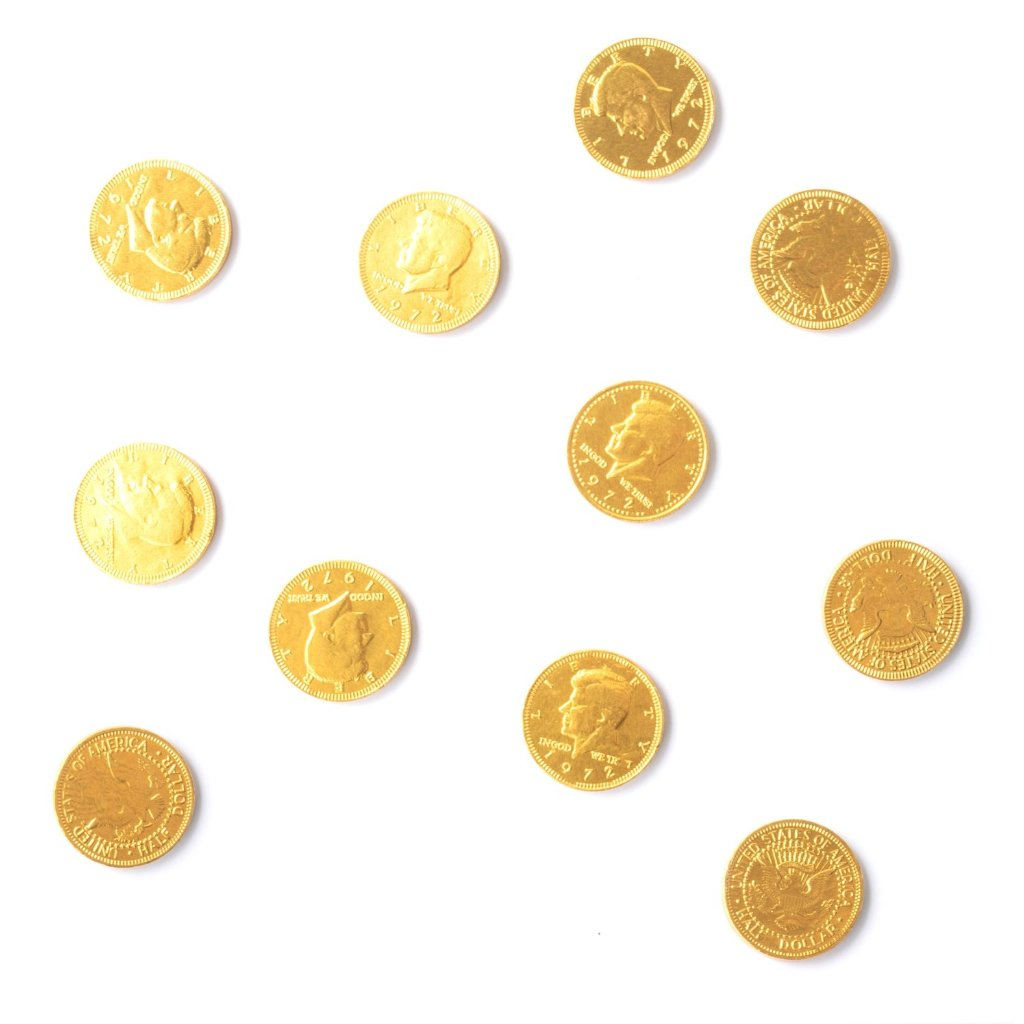 CHOCOLATE COINS - PACK OF 10