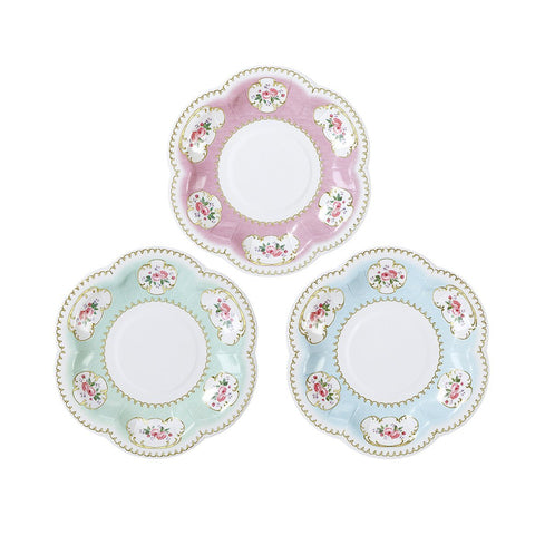 TRULY CHINTZ CANAPE PLATES