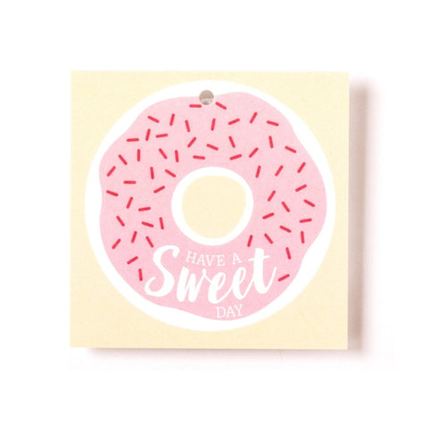 "GIFT TAGS - DONUT ""HAVE A SWEET DAY"""
