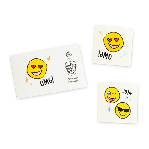 TEMPORARY TATTOOS - EMOJI