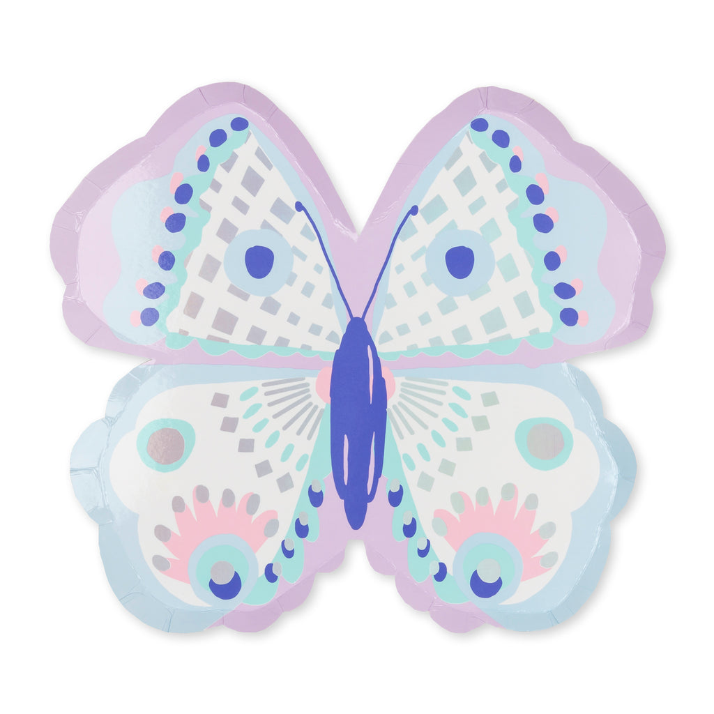 FLUTTER BUTTERFLY LARGE PLATES