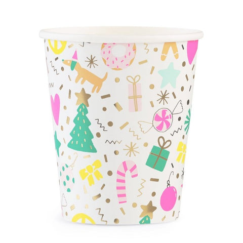 MERRY AND BRIGHT CUPS