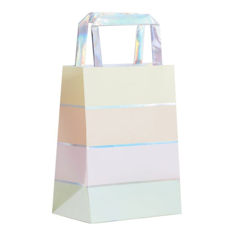 Iridescent and Pastel Favor Bags
