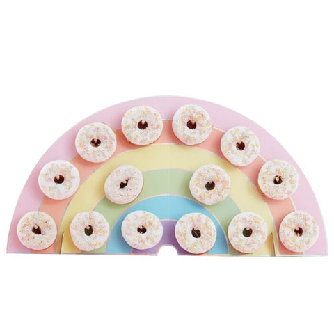 Rainbow Donut Holder Wall