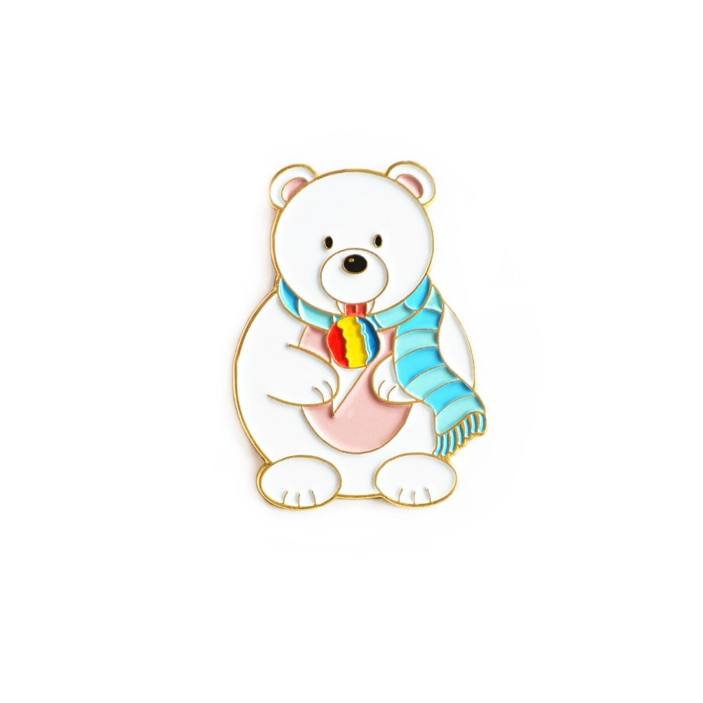 POLAR BEAR ENAMEL PIN