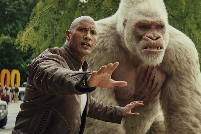 Dwayne Johnson has love for 'Rampage'