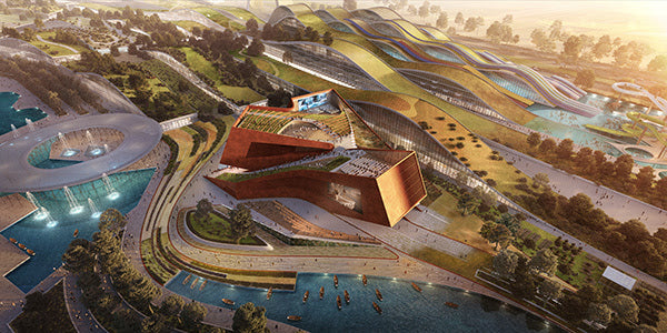 UNStudio's design for EuropaCity's 'Centre Culturel'