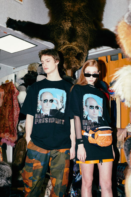 MR. PRESIDENT - HERON PRESTON DEBUTS EXCLUSIVE CAPSULE COLLECTION FOR KM20