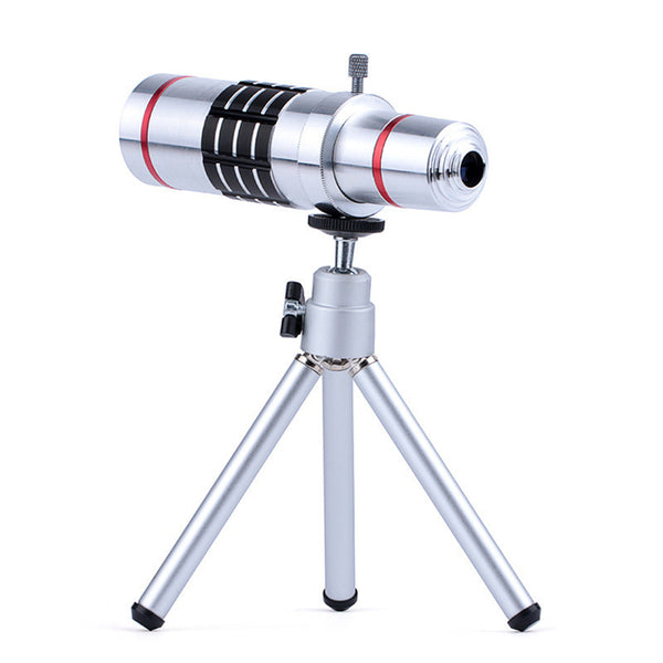 18X Optical Telescope Lens  with Tripod Bluetooth Shutter - X-Tronikz