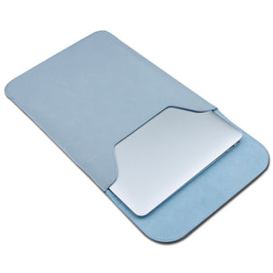 SOFT MATTE PU LEATHER LAPTOP SLEEVE - X-Tronikz