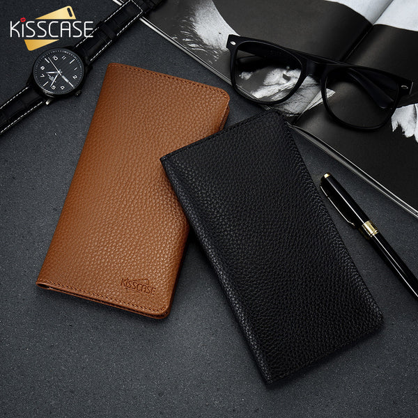 UNIQUE LEATHER WALUT CASE FOR iPHONE & SAMSUNG - X-Tronikz