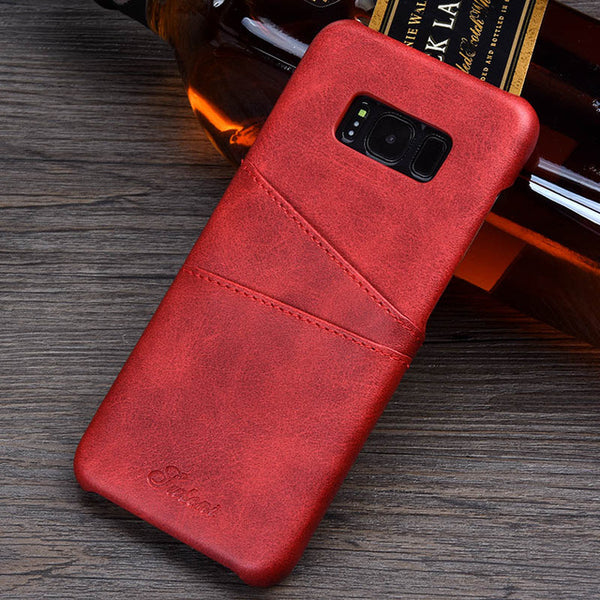 Leather for Samsung Galaxy S8 S8 Plus - X-Tronikz