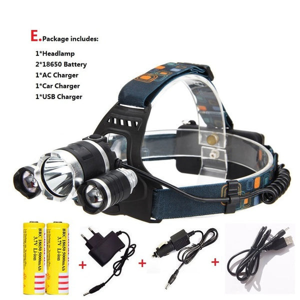 10000LM Head Torch - X-Tronikz