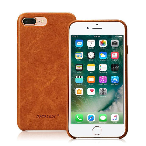 Vintage Genuine Leather Cover for iPhone 7 & 7 Plus - X-Tronikz