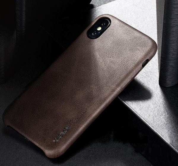 HIGH QUALITY LEATHER IPHONE X CASE - X-Tronikz
