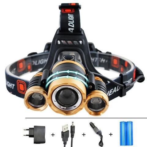 12000LM XM-T6 Led Head Torch - X-Tronikz