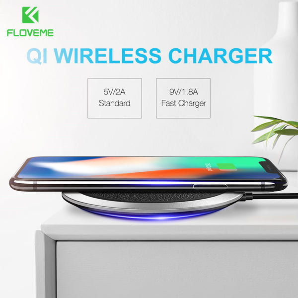 Fast Universal Qi Wireless Charger Pad For iPhone &Samsung - X-Tronikz