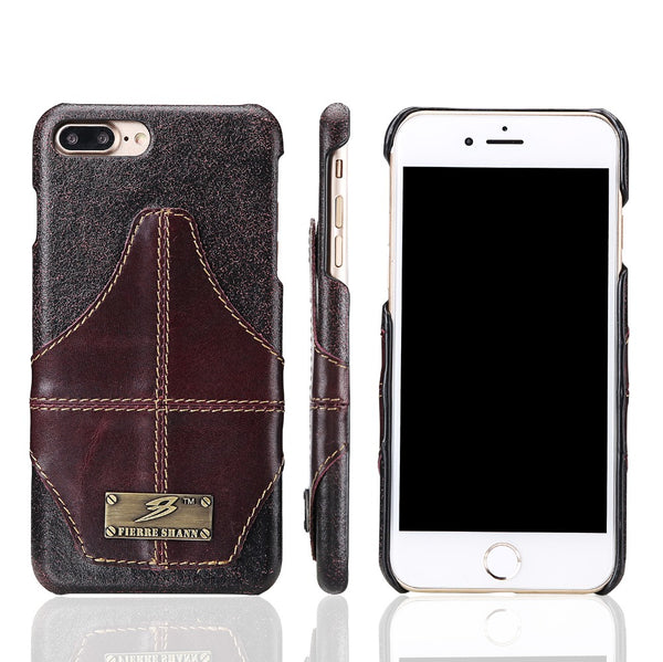 High Quality Genuine Leather for iPhone X,8/Plus & Galaxy S8/Plus - X-Tronikz