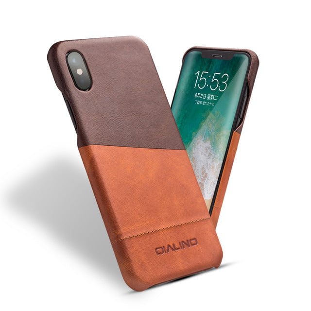 ULTRA THINK LEATHER FOR iPHONE X - X-Tronikz